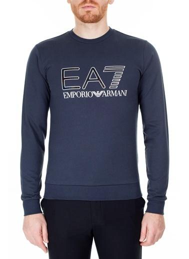 EA7 Emporio Armani  Sweat Erkek Sweat S 6Gpm33 Pj05Z 1554 Lacivert